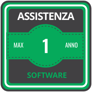 Assistenza 24 ore su 24 Software 1 anno