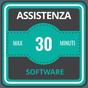 assistenza 24 ore su 24 Assistenza 30 minuti