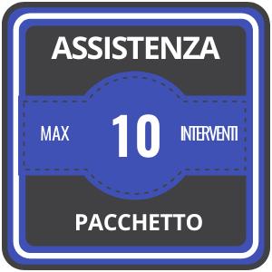 Assistenza Pacchetto 10 Interventi