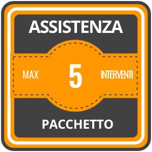 Assistenza Online Pacchetto 5 Interventi