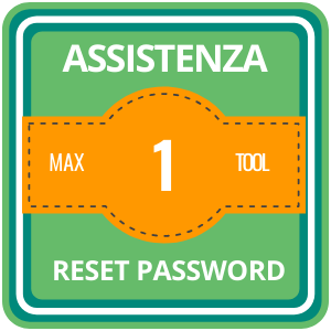 assistenza 24 ore su 24 Pacchetto 1 reset password